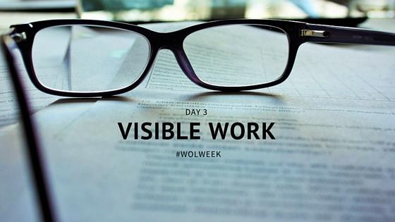 VISIBLE WORK